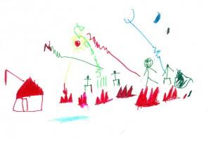 Vaikų piešinių analizė, psichologas Vilniuje, psichoterapija Vilniuje, nerimas, skyrybos, vaiku auklejimo problemos, priklausomybe, krize, netektis